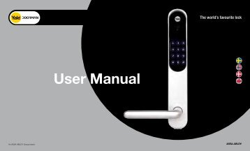 Yale Doorman User Manual V1.1