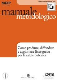 Le nuove linee guida per la salute pubblica - Marketing sociale e ...