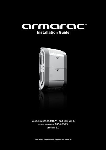 Armarac Installation Guide