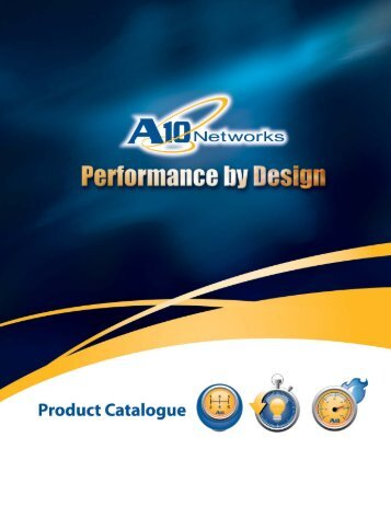 A10 Product Catalogue - Bayside Solutions, Inc.