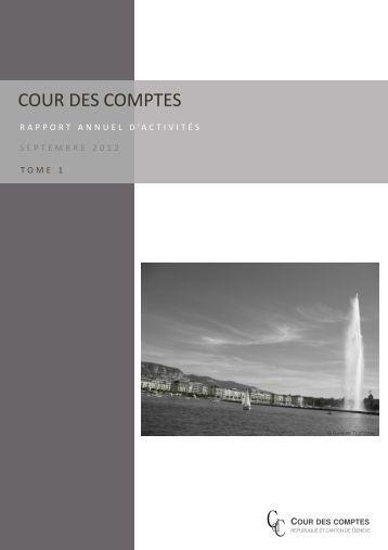 Consulter le rapport (tome 1) (PDF, 641 Ko) - Cour des comptes