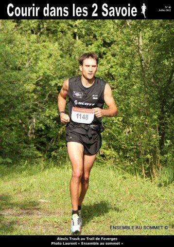 Alexis Traub au Trail de Faverges Photo Laurent ... - Nicolaclusaz