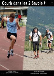 Photo Fred Brousseau Endurance - Nico la Clusaz