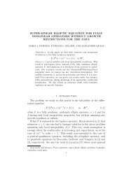 SUPER-LINEAR ELLIPTIC EQUATION FOR FULLY ... - CAPDE