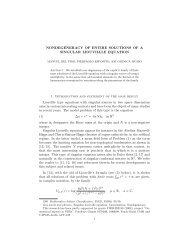 NONDEGENERACY OF ENTIRE SOLUTIONS OF A ... - CAPDE