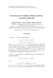 Ground states of semilinear elliptic equations: a geometric ... - CAPDE