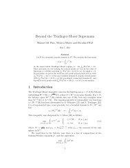 Beyond the Trudinger-Moser Supremum - CAPDE