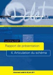 Articulation des documents d'urbanisme - Plan local d'urbanisme ...