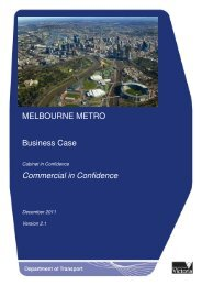 Melbourne Metro Business Case
