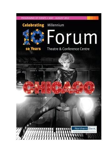 Season 33 brochure May - August 2012.pdf - Millennium Forum