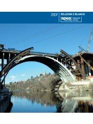Relazioni e Bilancio 2007 - Spea Ingegneria Europea SpA