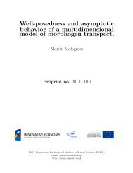 Well-posedness and asymptotic behavior of a multidimensional ...