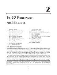 IA-32 Processor Architecture - MetaLab