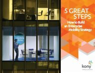 5 Great Steps; How to Build an Enterprise Mobility Strategy