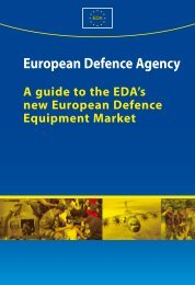 EDA Guide to EDEM - European Defence Agency - Europa