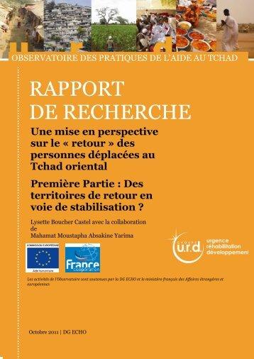 GTDIS - Groupe URD