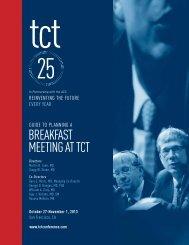 Planning a Breakfast Meeting - TCT
