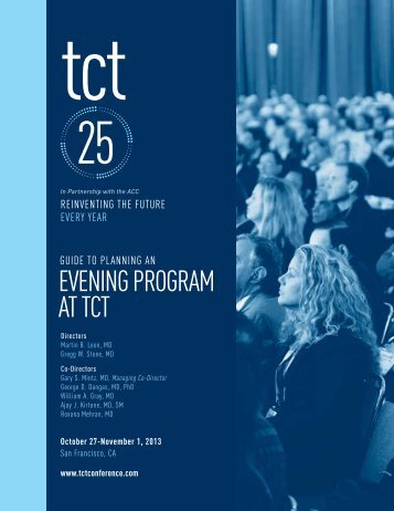 Planning an Evening Program - TCT