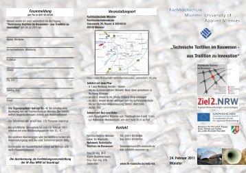 """""""Technische Textilien im Bauwesen - aus Tradition zu ... - ZiTex"""