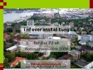 infoveranstaltung www.pj-sprechstun.de - PJ-Sprechstunde Kiel