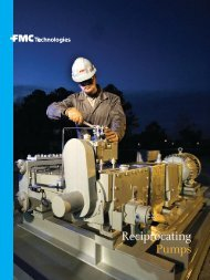 Reciprocating Pumps - FMC Technologies