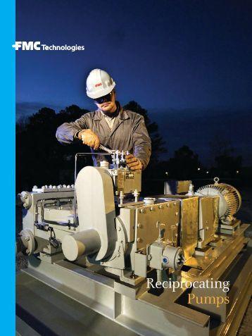 Reciprocating Pumps - FMC Technologies