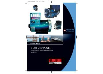 STAMFORD POWER - Frontier Power Products
