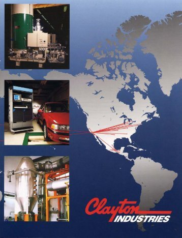 Corporate Brochure - Clayton Industries