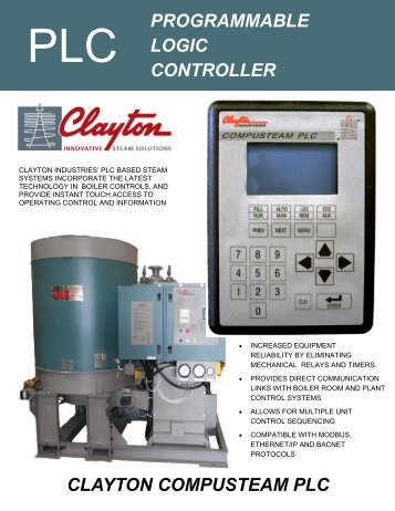 PLC Control - Clayton Industries