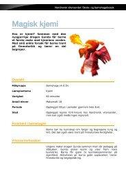 Magisk kjemi - Nordnorsk vitensenter