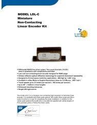 Data Sheet - MicroE Systems