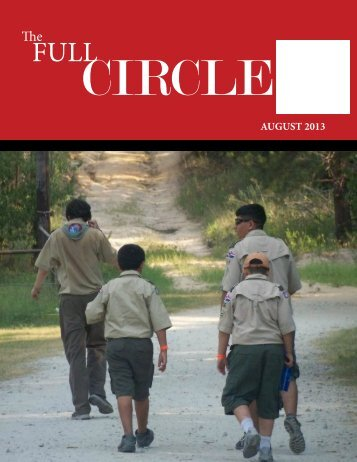August 2013 newsletter - Circle Ten Council