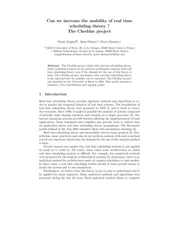 The Cheddar project