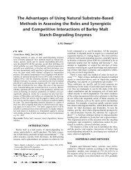 Paper on mashing enzymes (PDF) - lemis