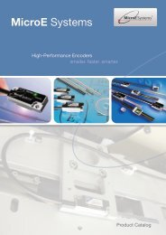 Encoder Innovation Starts Here. - MicroE Systems