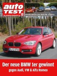 Der neue BMW 1er gewinnt