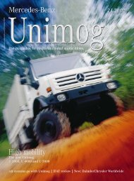 systems go with Unimog | IFAT review | New - Mercedes-Benz