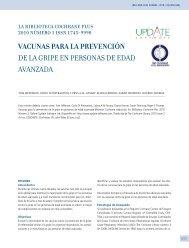 vacunas para la prevención de la gripe en personas de edad ...