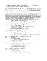 11:372:474 Undergraduate Advanced Remote Sensing Spring 2013 ...