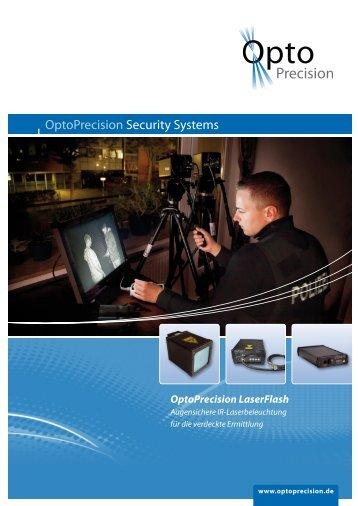 LaserFlash Flyer - OptoPrecision