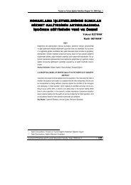 konaklama işletmelerinde sunulan hizmet kalitesinin - Ticaret ve ...