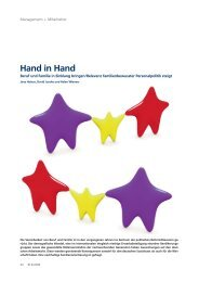 Hand in Hand - Forschungszentrum Familienbewusste Personalpolitik