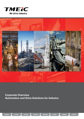 TMEIC India Corporate Overview Brochure A4 - Tmeic.com