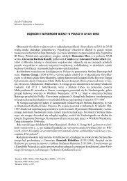 """Jacek Feduszka, Muzeum Zamojskie w Zamosciu """"Wojskowi i ..."""