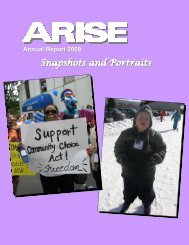 ARISE Flash Card 2009