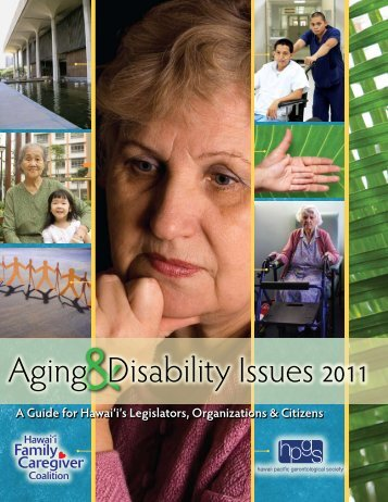 Aging & Disability Issues 2011 - National Alliance for Caregiving