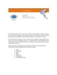 The Special Interest Group (Taxes) for the JHI Asia-Pacific Region is ...