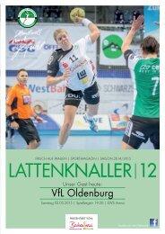 LATTENKNALLER 12 - GAST: VfL Oldenburg - 02.05.2015 - SAISON 2014/2015