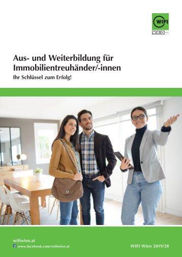 Aus- und Weiterbildung für Immobilientreuhänder/-innen im WIFI Wien
