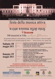 festa della musica attiva fest a de lla musi caat tiva - Comune di ...